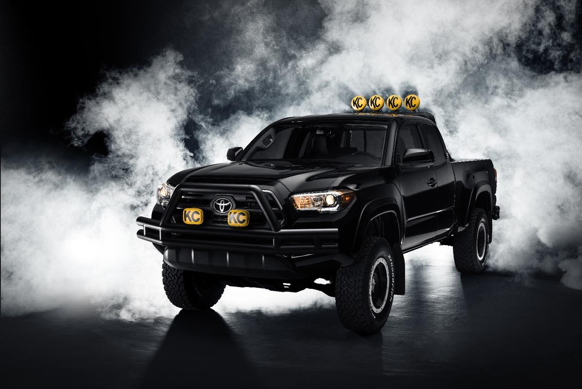 Toyota's new Back to the Future-styled Tacoma