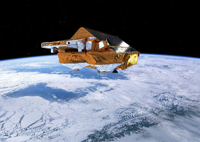 Since 2010, the European Space Agency's CryoSat satellite has circled the Earth and monitored the state of the polar sea ice, along with the ice sheets that cover Antarctica and Greenland