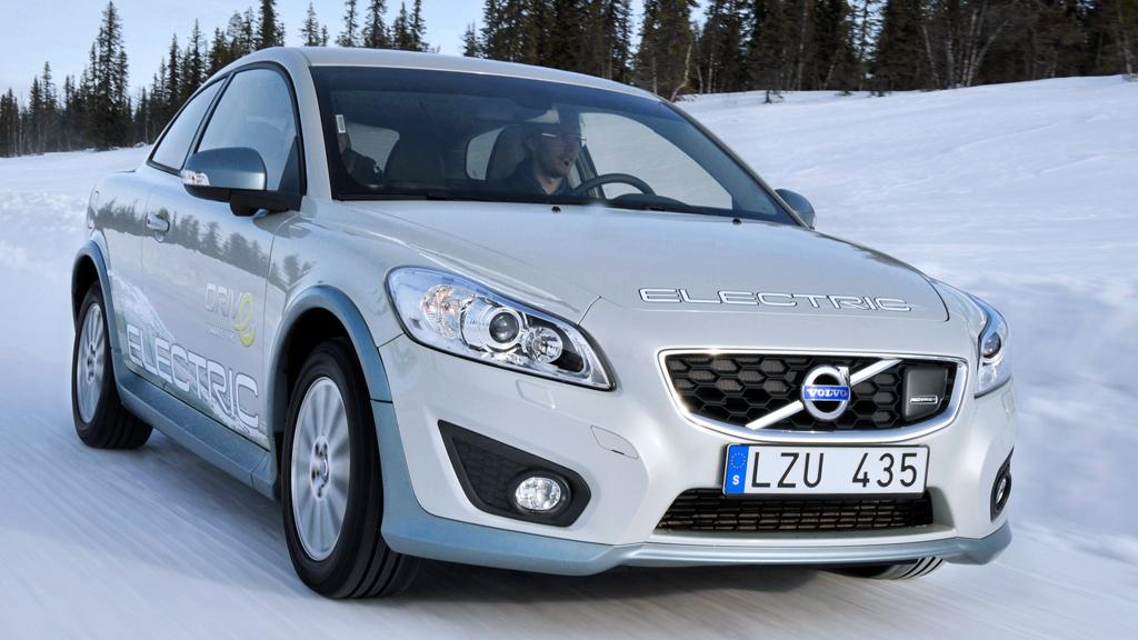 Volvo puts its C30 Electric through its paces in northern Sweden