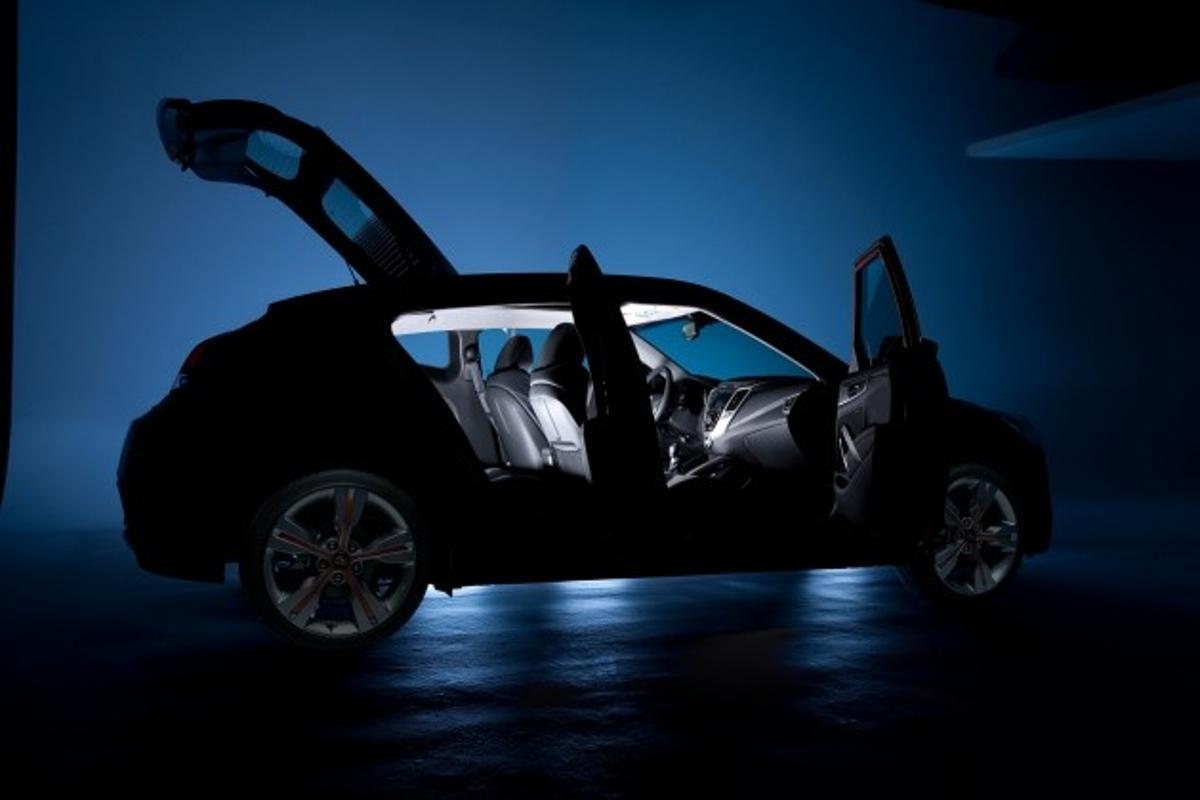 Hyundai Veloster - Detroit world premiere