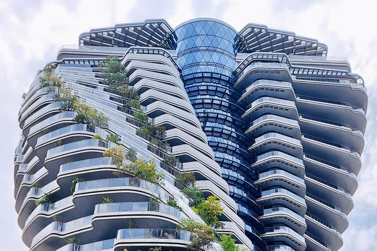 VCA calculates that Tao Zhu Yin Yuan's greenery will all remove 130 tons of CO2 from the atmosphere per year