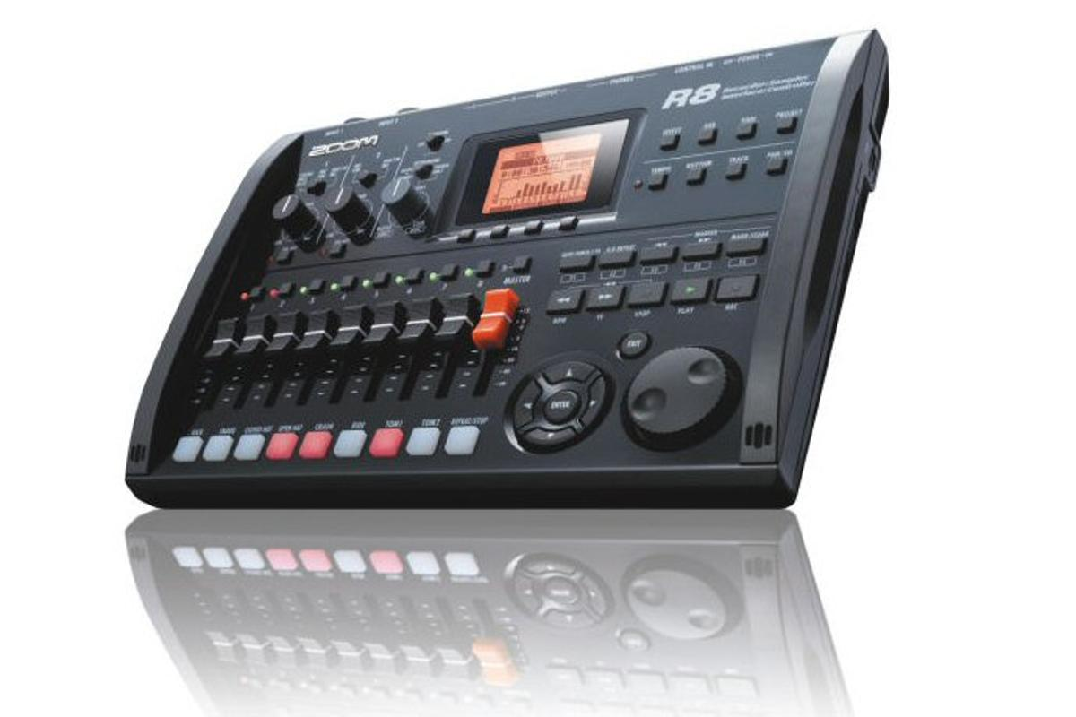 Zoom has announced the release of the R8 music production solution, which combines an 8-track recorder with a computer interface, DAW controller, and 8 voice sampler