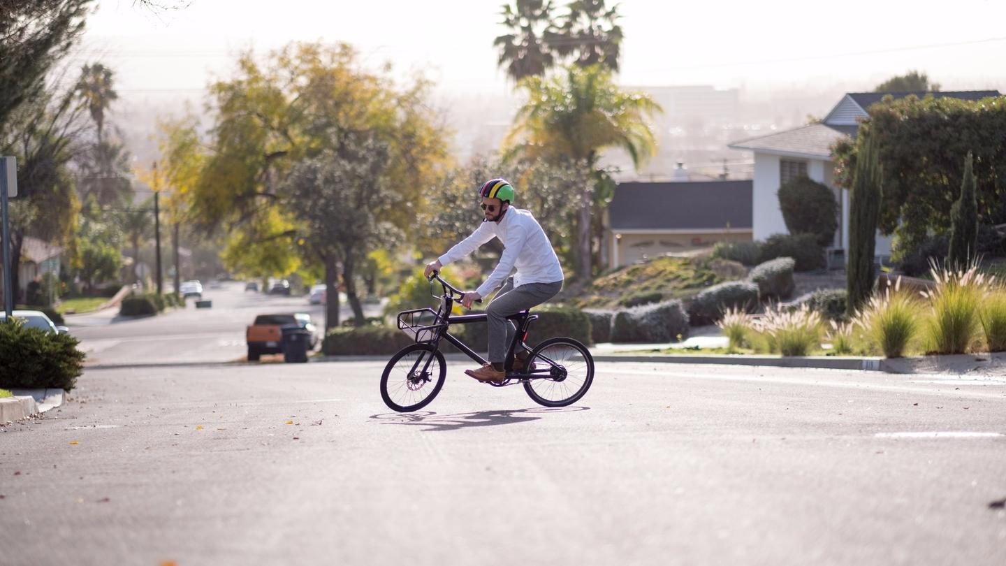 The Volta from Pure Cycles offers four electric assist modes