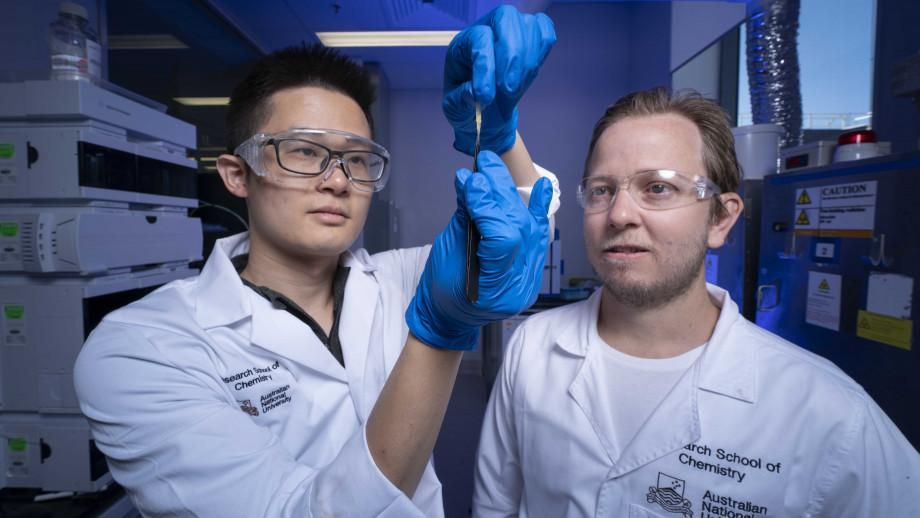 The new hydrogel can heal like lving skin