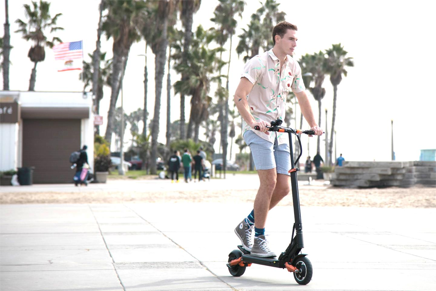 The Splach e-scooter is presently on Indiegogo