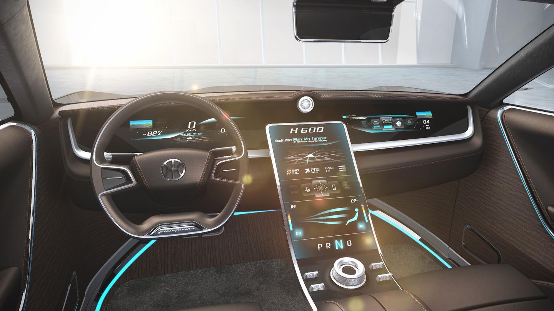 Inside the H600 sedan