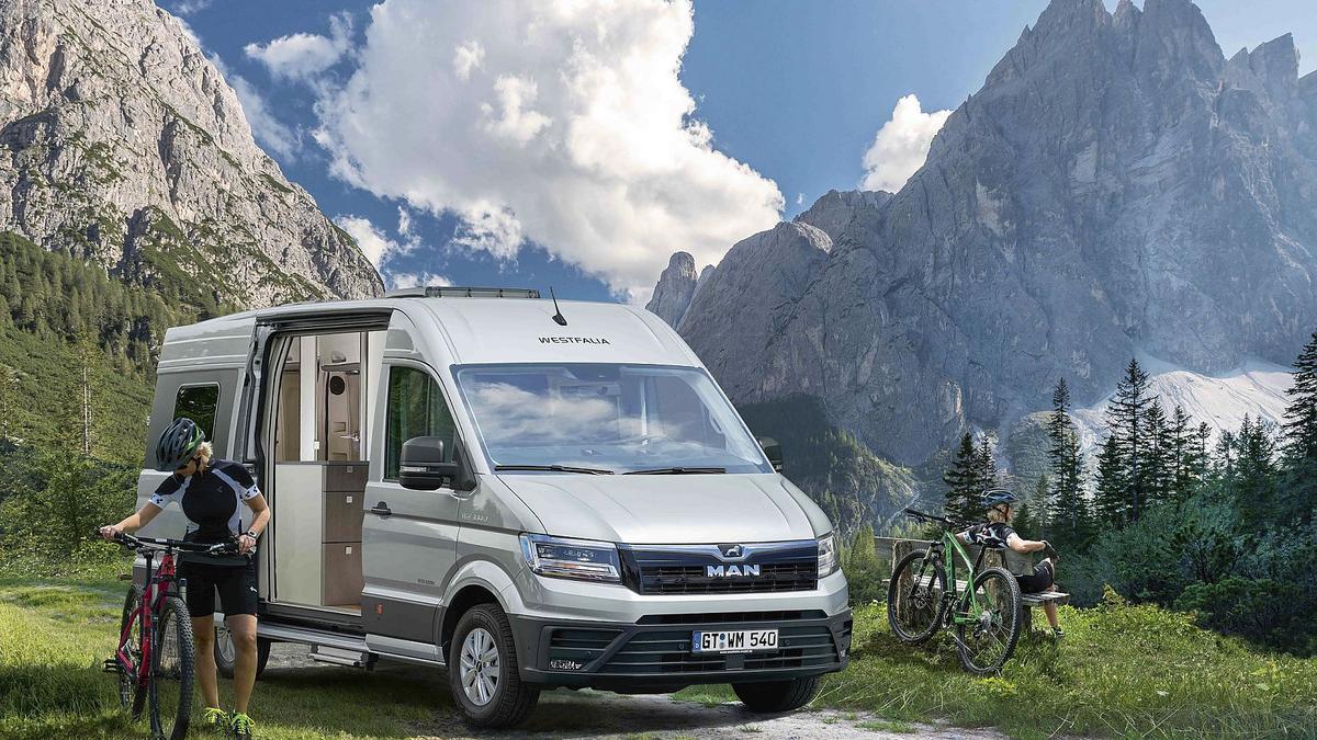 Westfalia's new VW camper van is a full-grown MAN