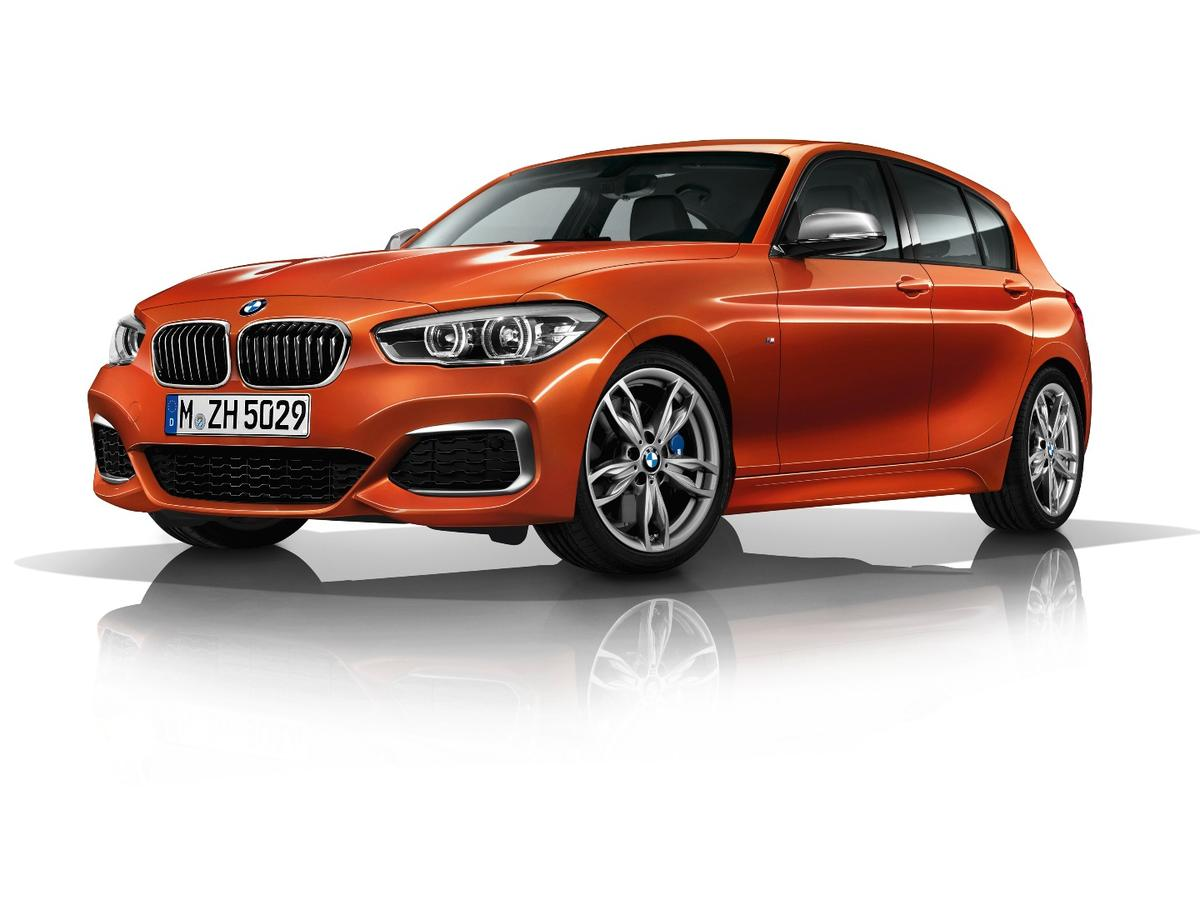The BMW 1 Series has a new range topper, with the more powerful M140i