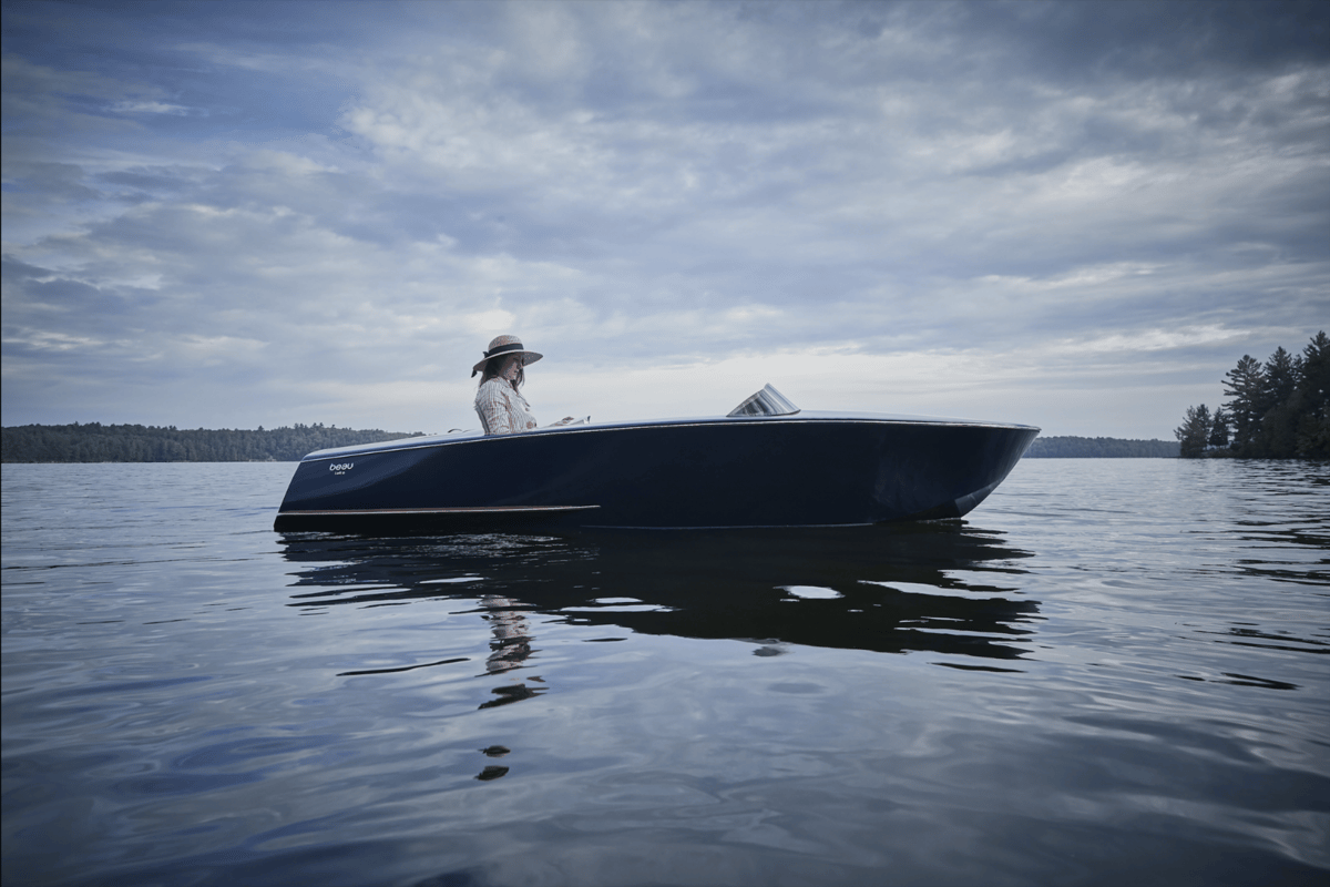 TheBeau Lake Runabout promisessimple elegance from a simpler time