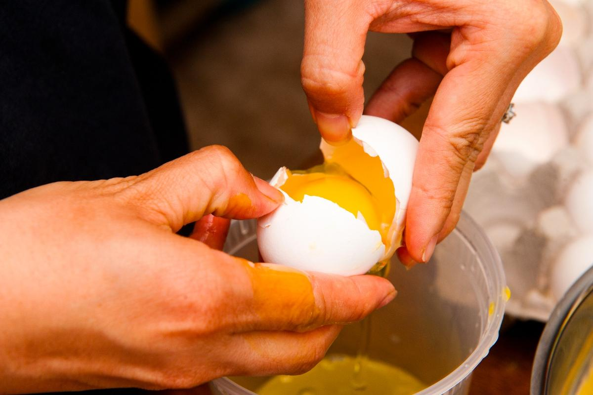 The clear albumen surrounding an egg's yolk was spun into a super-thin wafer used in a degradable chip known as a memristor