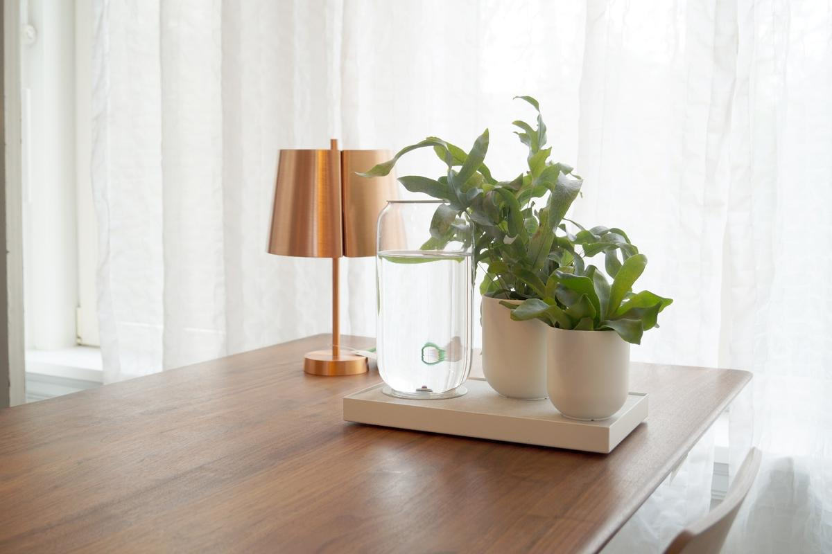 Dutch design start-up Pikaplant based the Tableau irrigation system based on nature's own method for keeping plants healthy and happy
