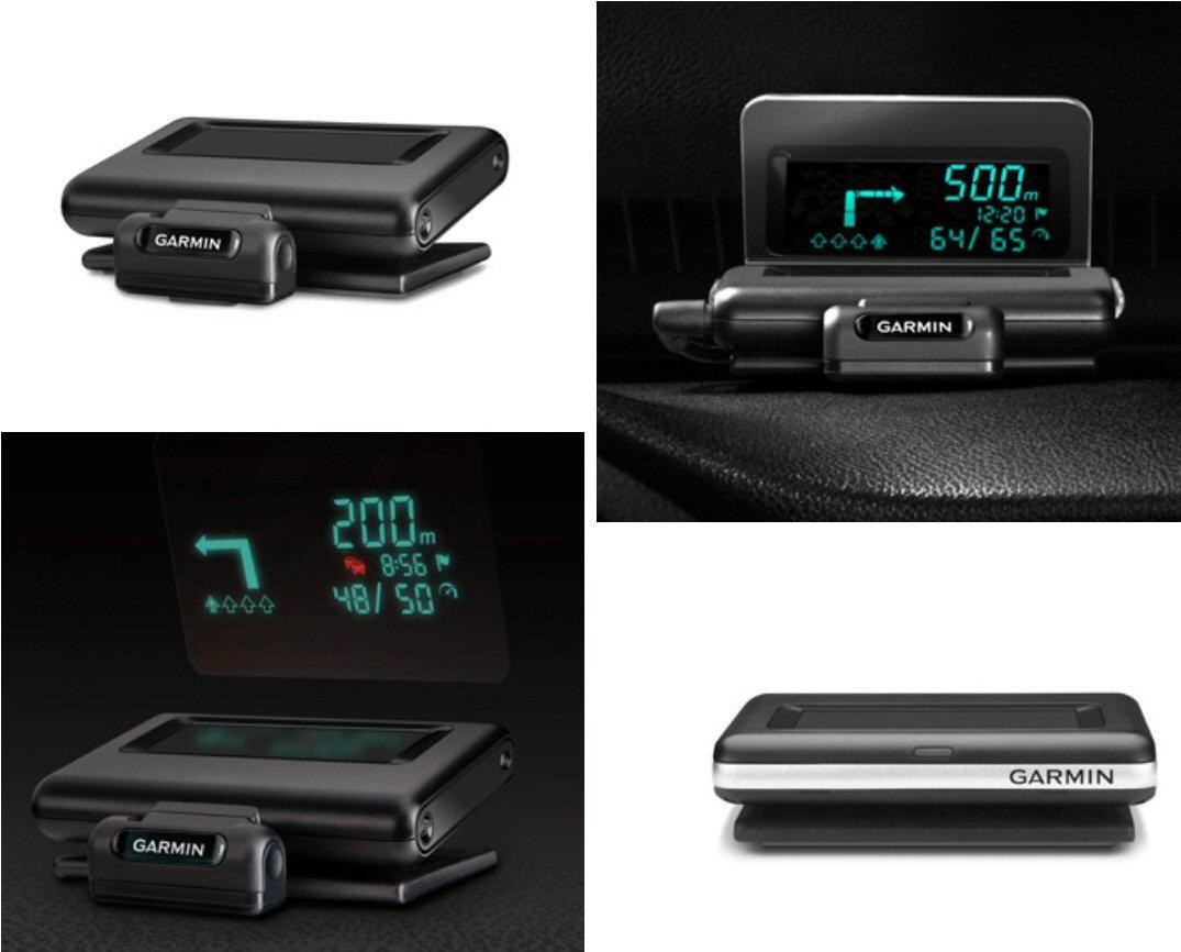 Garmin's first portable Head-up Display for smartphone navigation apps