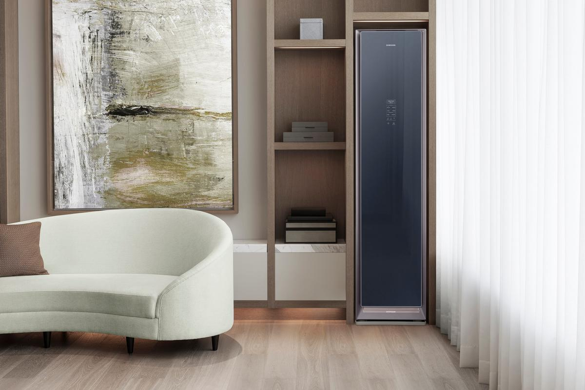 Samsung says that the AirDresser is so quite that it can be used in a room without disturbing the occupants