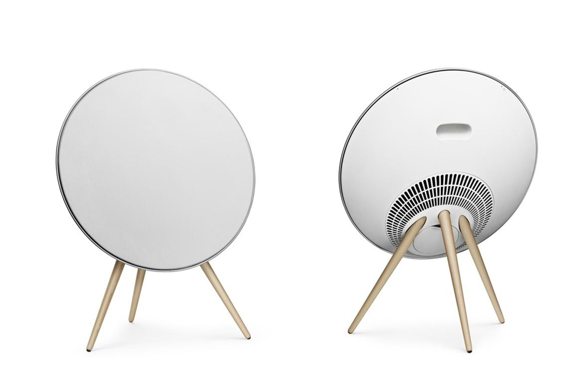 The BeoPlay A9 is a new disc-shaped streaming wireless speaker from Bang & Olufsen subsidiary B&O Play