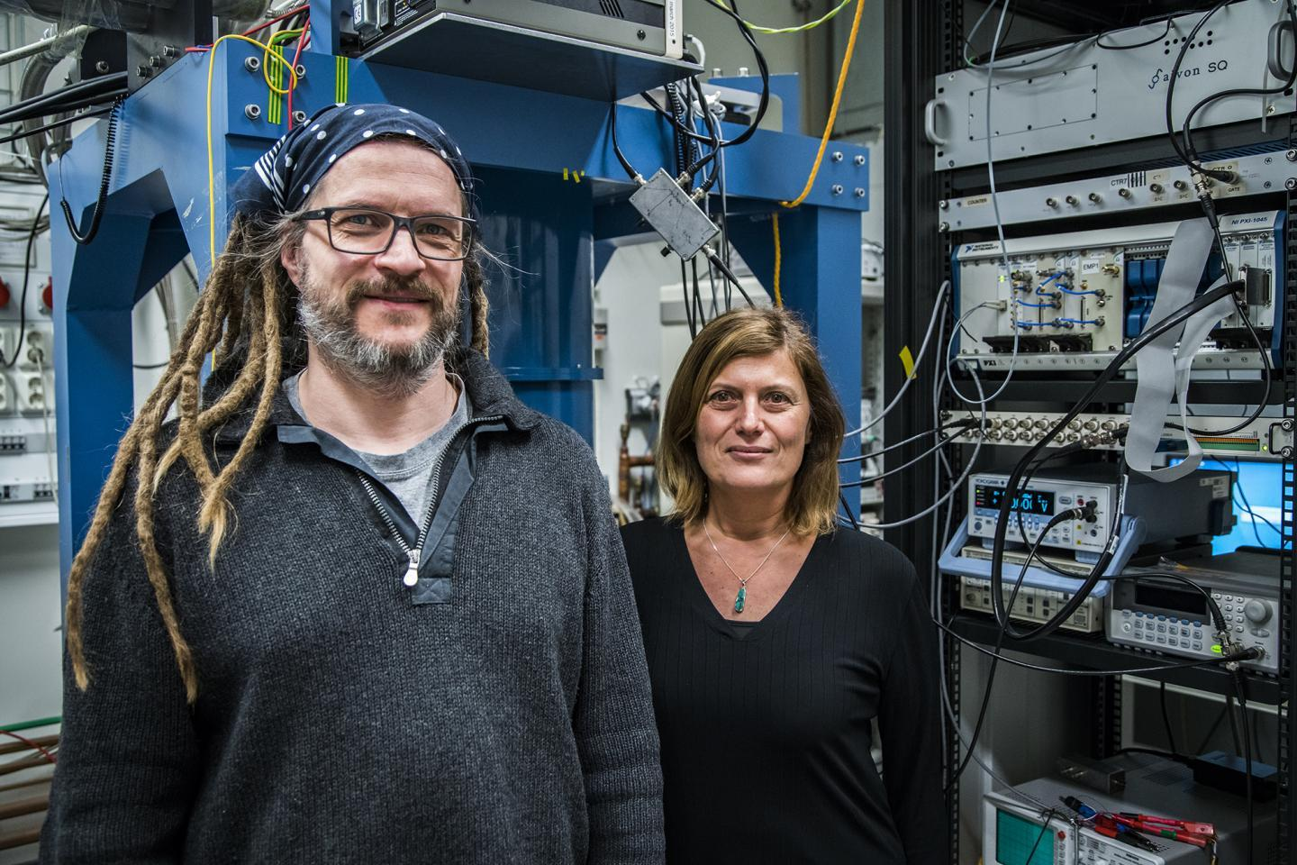 Though potentially important for building topological quantum computers, Thilo Bauch and Floriana Lombardi of Chalmers University of Technology are keen to explore the new physics behind their discovery