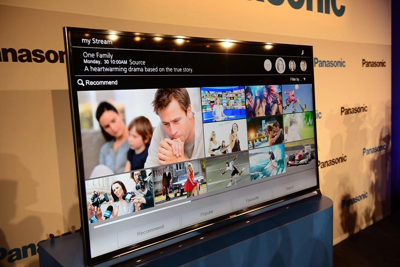 The Firefox OS will feature on Panasonic's next-gen smart TVs