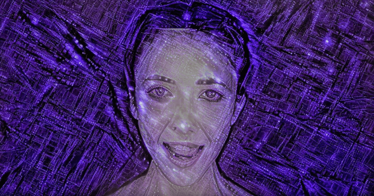 """A still from the music video for the new single """"Break Free"""" that featuresmusic entirely composed and produced by an artificial intelligence system"""
