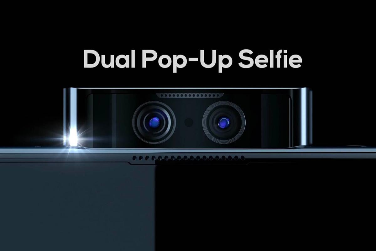 The Vivo V17 Pro is the first time we've seen the dual-lens selfie camera and the pop-up selfie camera combined