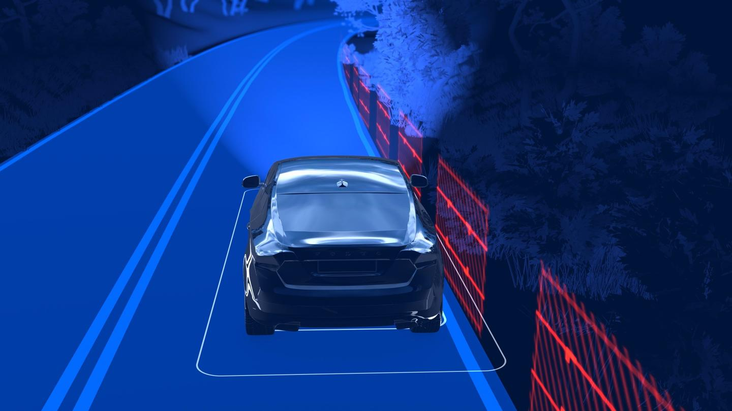 The new Volvo XC60 will actively avoid lane-change collisions