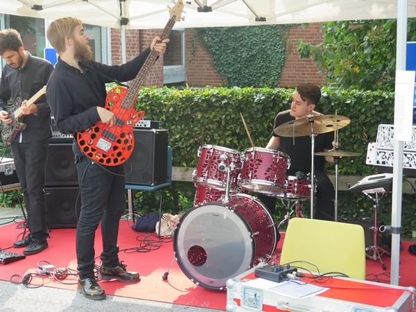 A professor and Lund University, Sweden, claims to have staged the first concert with a band using 3D printed instruments
