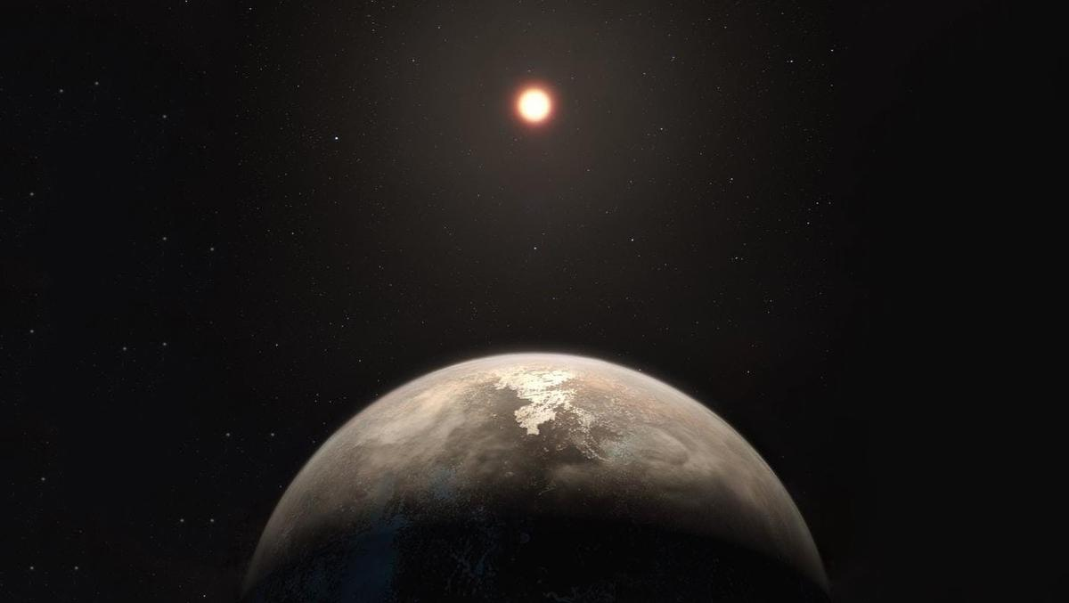 Artist's impression of Ross 128 b - new techniques have provided insights into this exoplanet's interior structure and how Earth-like it might be