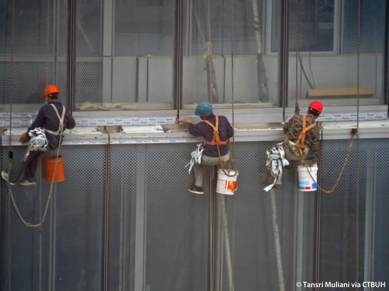 Following six years of construction, work has officially been completed on the world's second-tallest skyscraper, the Shanghai Tower