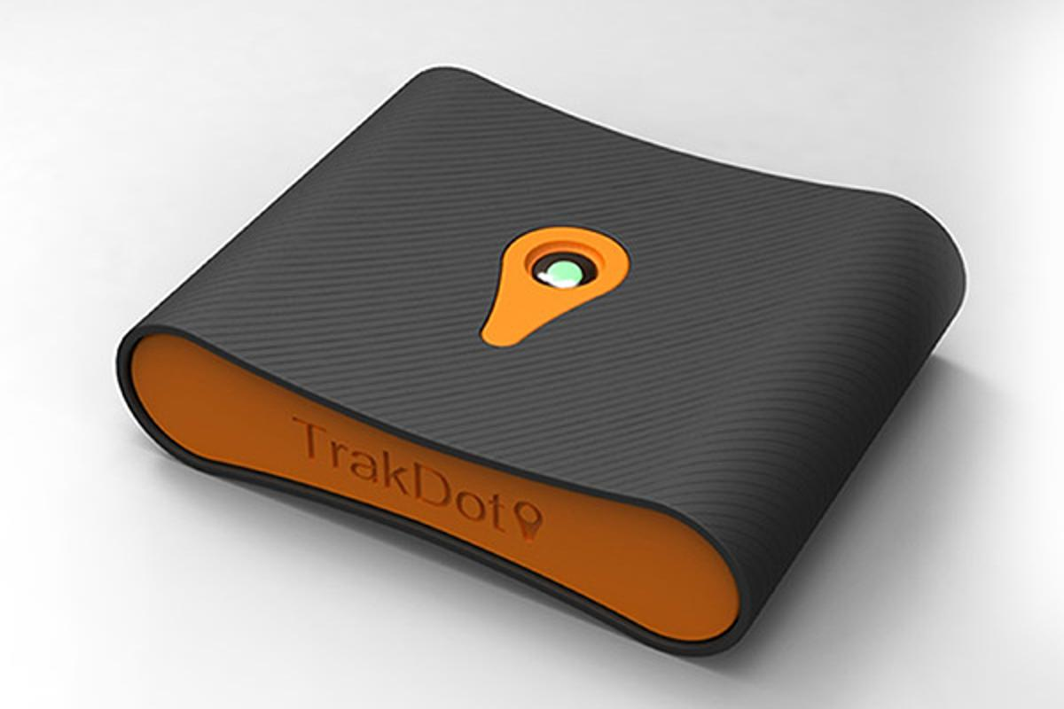 Trakdot acts like a homing beacon to monitor and locate your luggage anywhere in the world