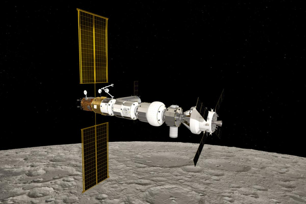 Artist's concept of the Gateway module