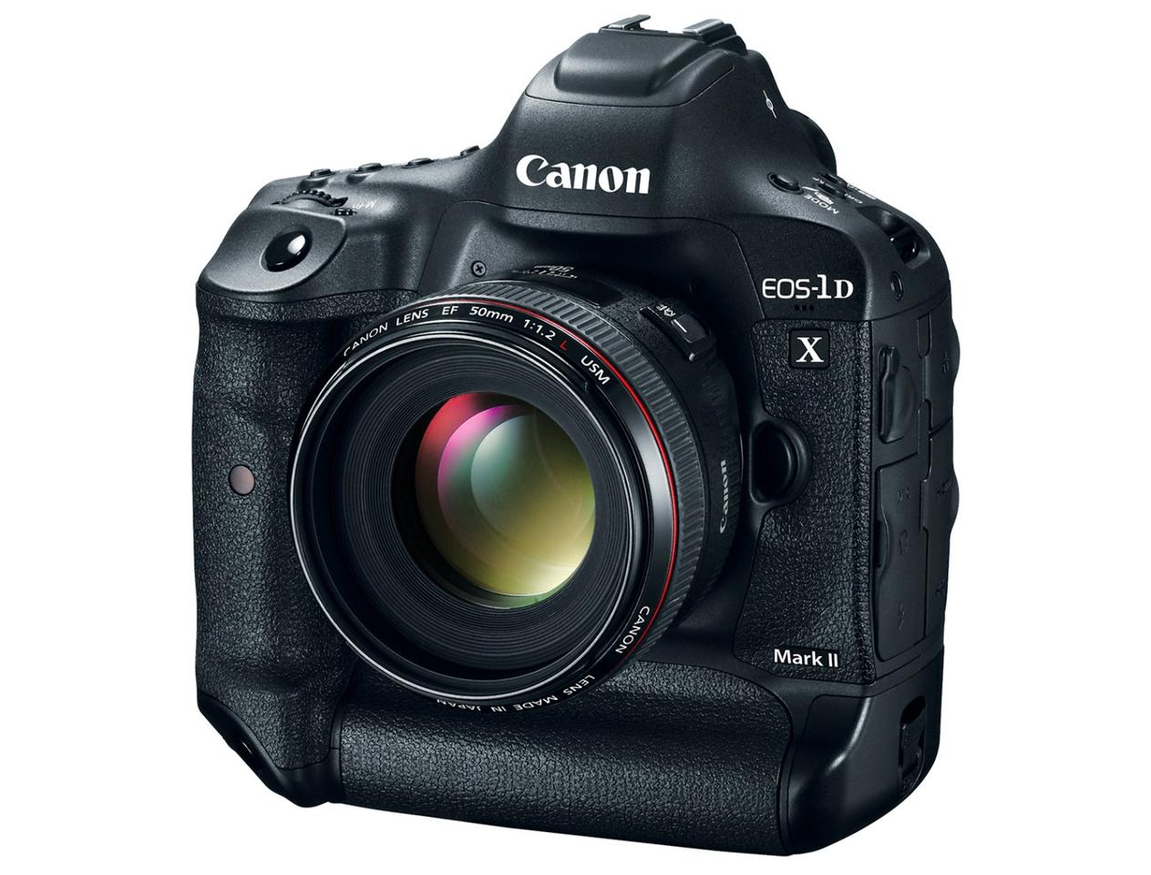 The Canon EOS-1D X Mark II can shoot 4K video at 60/50 fps