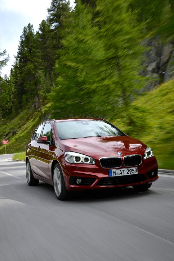 BMW's new 2 Series Active Tourer should fit nicely into that stylized wagon, minivan, SUV crossover segment