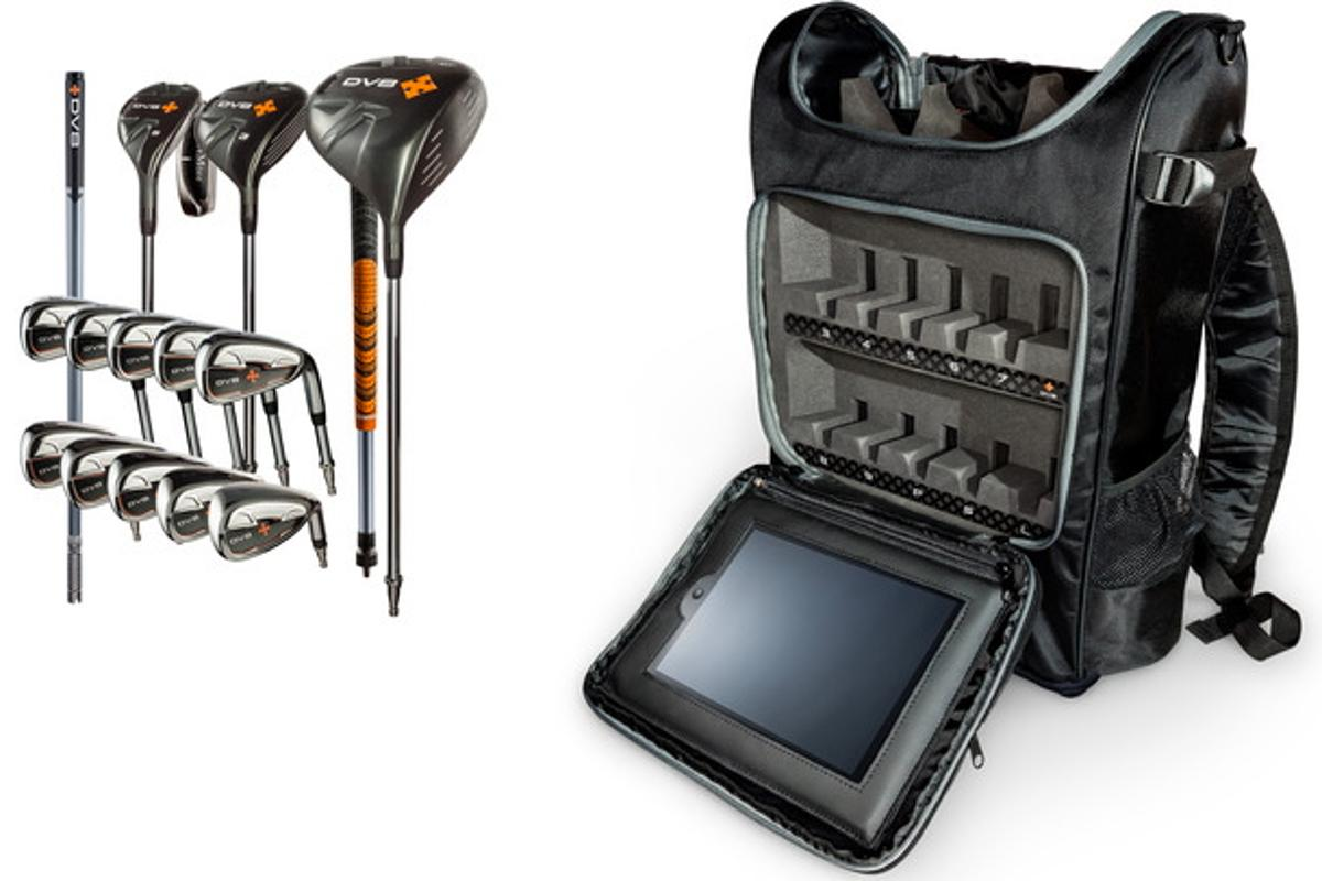 DV8 Sports' new interchangable golf clubs aim to make the game more portable without sacrificing performance