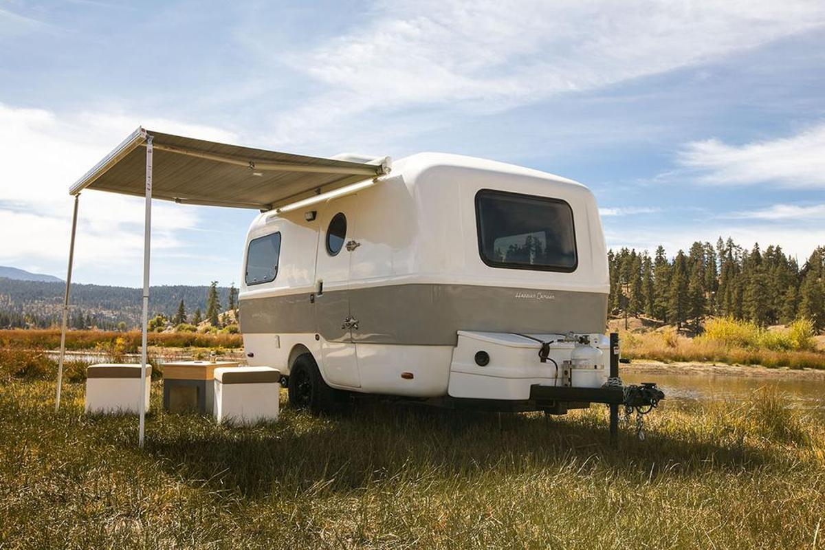 Happier goes big with retro-chic, modular Traveler camping trailer