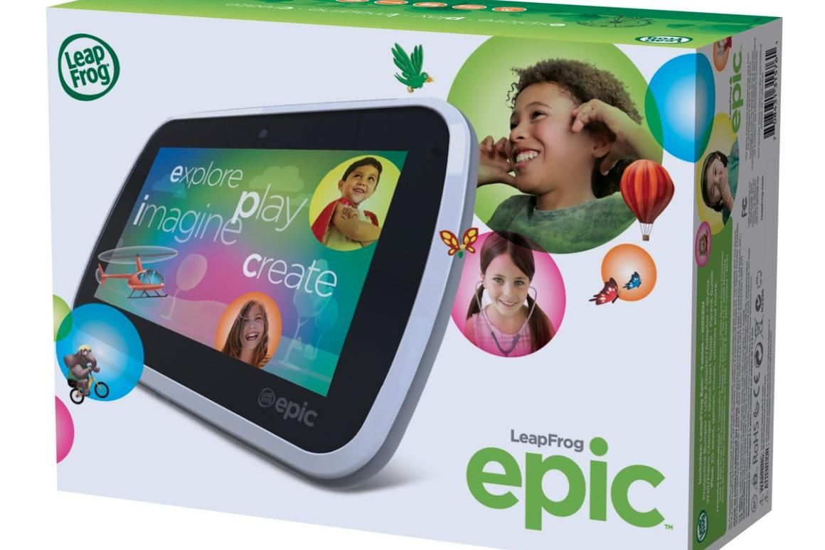 LeapFrog Epic hops into the Android tablet for kids market