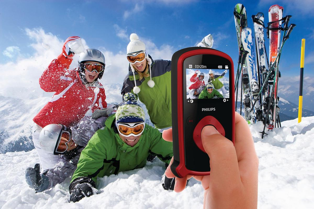 Philips has just announced the release of its new ESee pocket camcorder