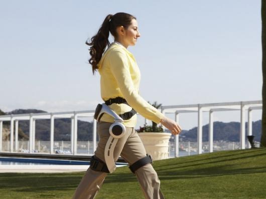 Making strides: Honda's Stride Management Assist walking device designed to help the elderly and frail