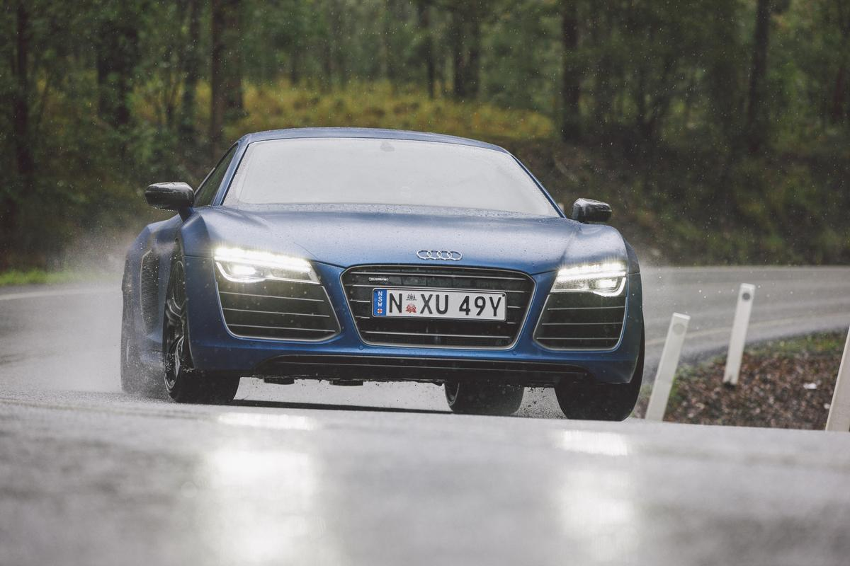 Drivetrain updates and weight loss program push Audi's Lamborgated R8 further than ever into real-gone supercar territory