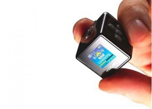 World's Smallest Digital Audio Player with Color Display