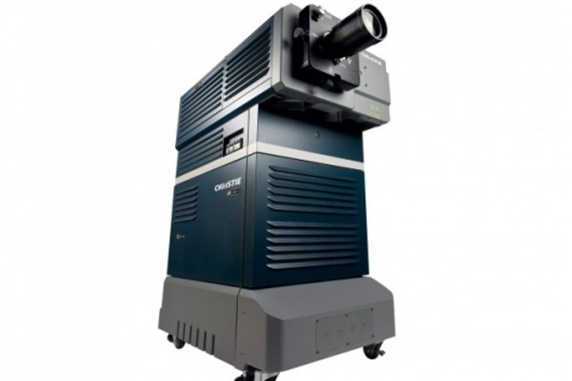 The 3D camera being used for the opening screening at this year's Cannes Film Festival is the Christie CP2000-SB projector with built-in Brilliant3D innovative technology