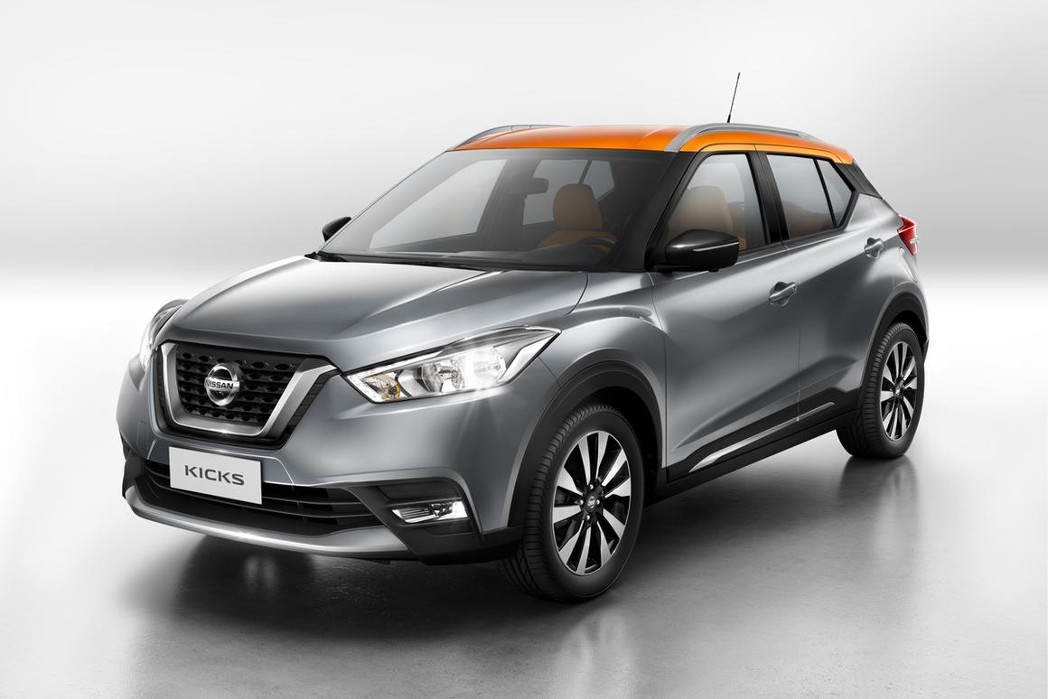 Nissan will be hoping its new Kicks can give it a bigger slice of the growing compact SUV market