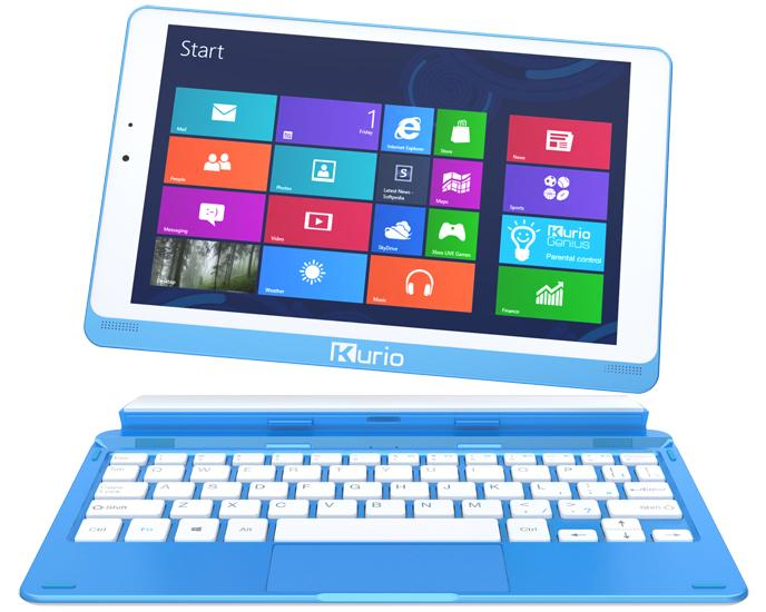 The Kurio Smart comes with a detachable keyboard