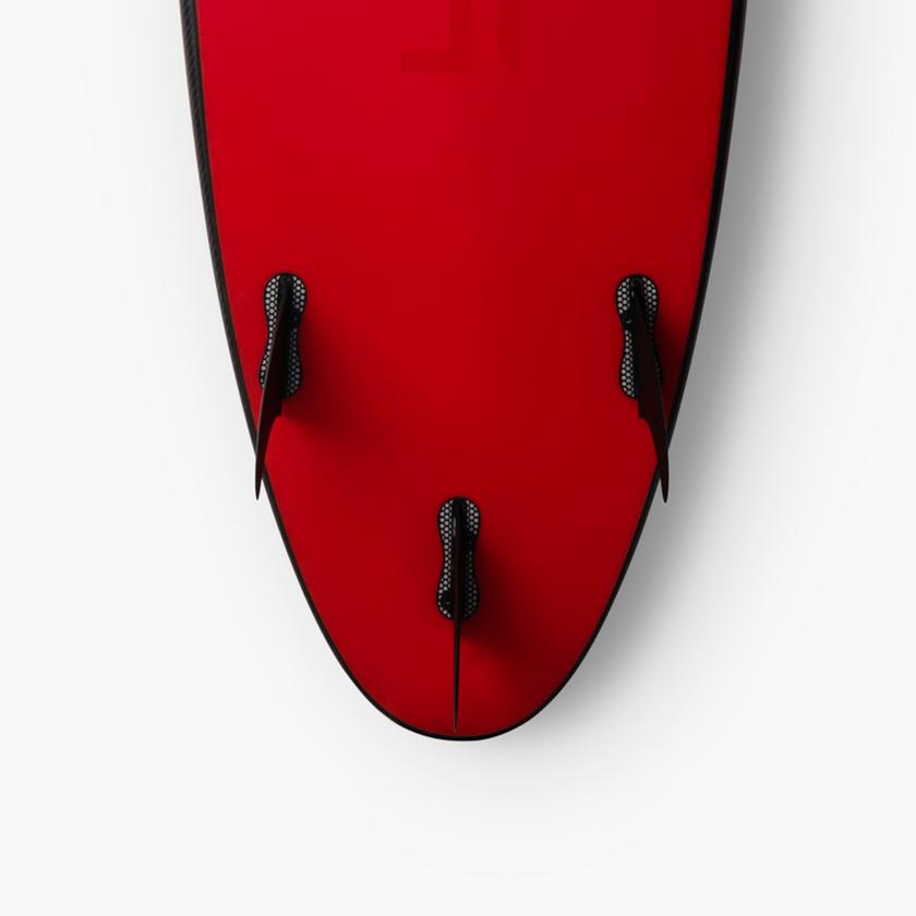 """The Limited Edition Tesla Surfboard was cooked up together with renowned surfboard shaper Matt """"Mayhem"""" Biolos"""