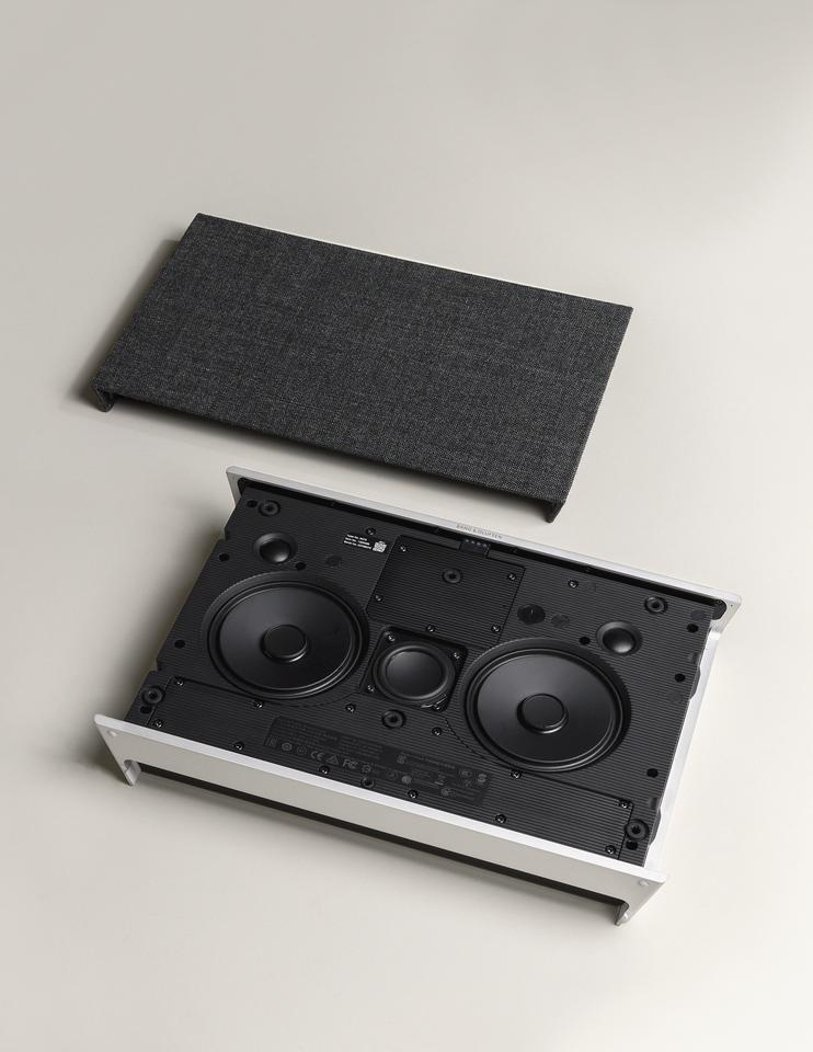 The Beosound Level promises 105 watts output from its five speaker setup