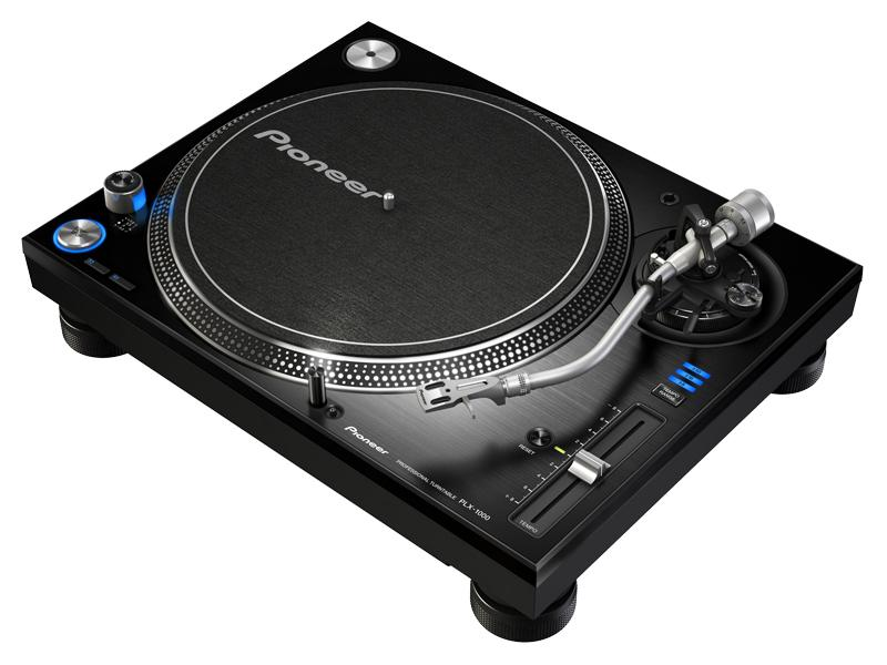 The Pioneer PLX-1000 professional turntable for DJs who prefer to spin and scratch vinyl