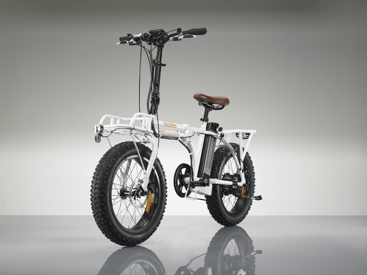 The RadMini offers 750 watts of motor power and plenty of cargo space