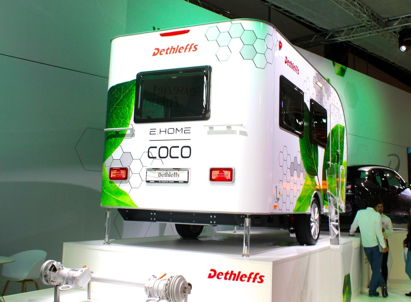 Dethleffs presents the world's first electric caravan