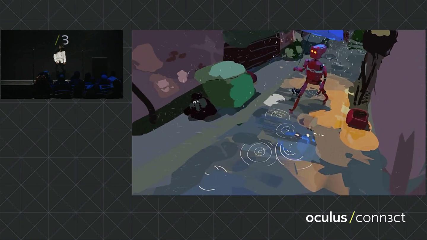 A Quill demo at Oculus Connect 3