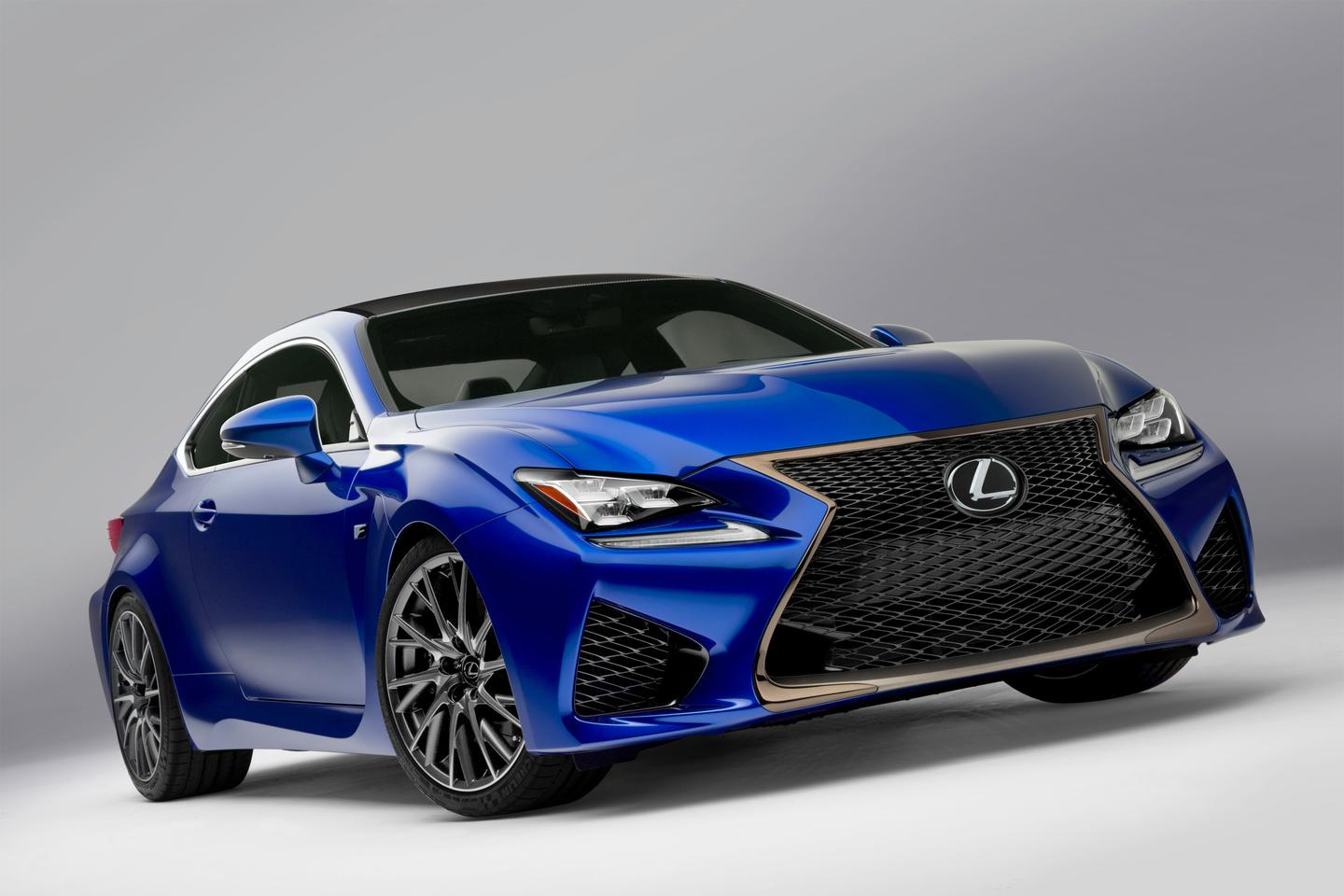 The Lexus RC F is a high-performance version of the RC