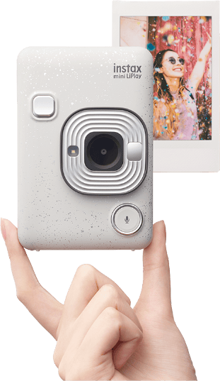 The mini LiPlay is the smallest and lightest instax camera Fujifilm has so far produced
