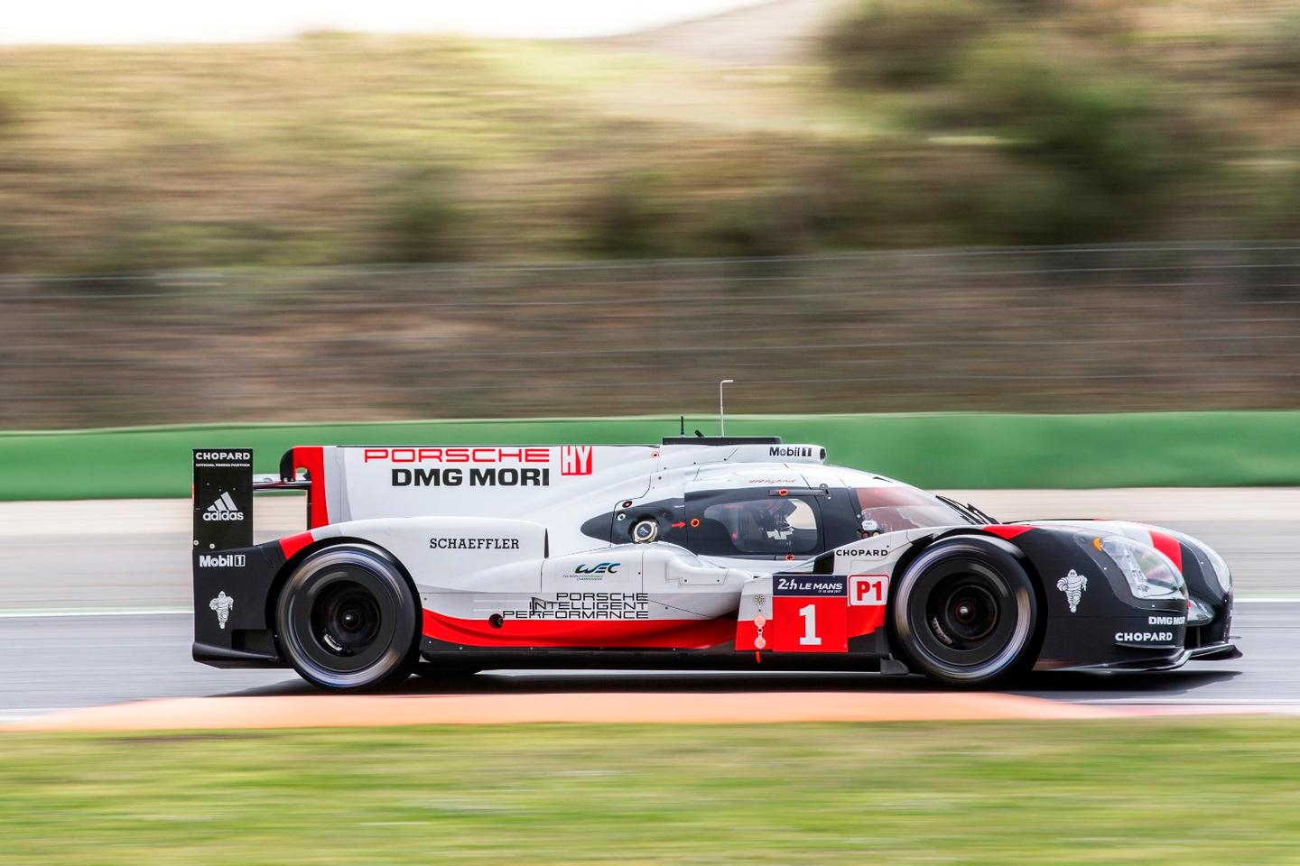 The 919 Hybrid is targeted directly at Le Mans glory