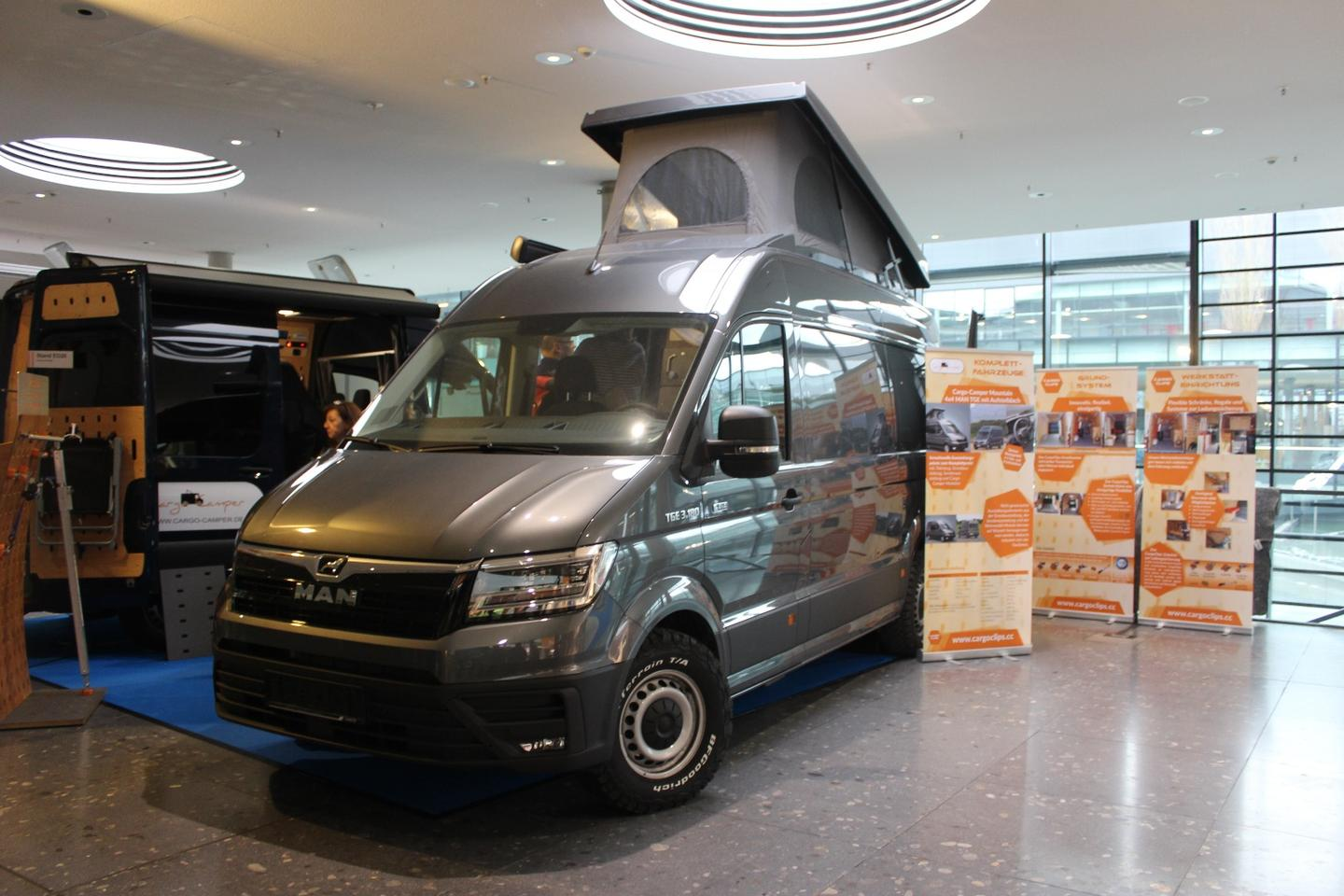 Autocom shows off its Cargo Campers at CMT 2019